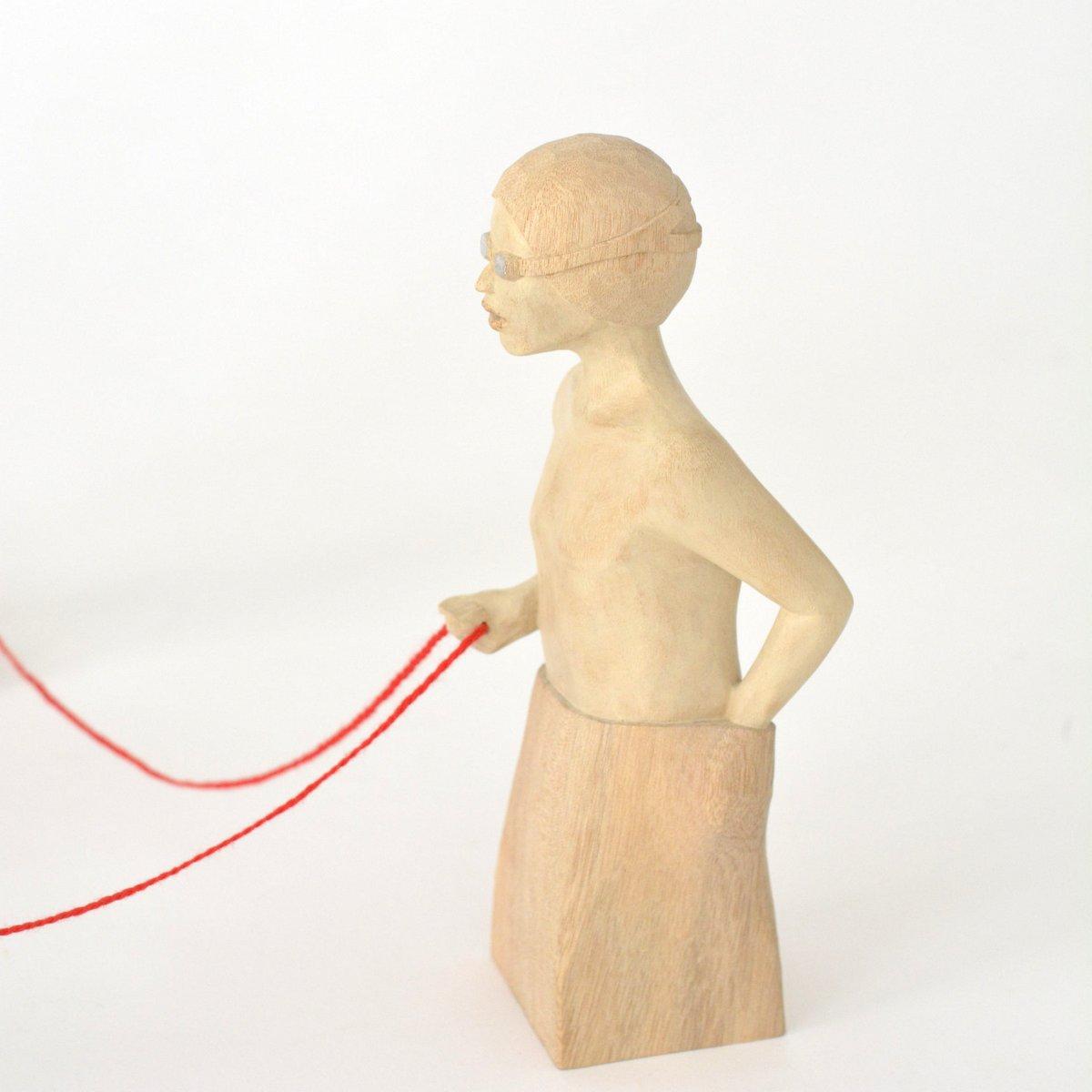 「 西浦裕太 木彫刻展 」 7日目-2_d0087761_1473346.jpg