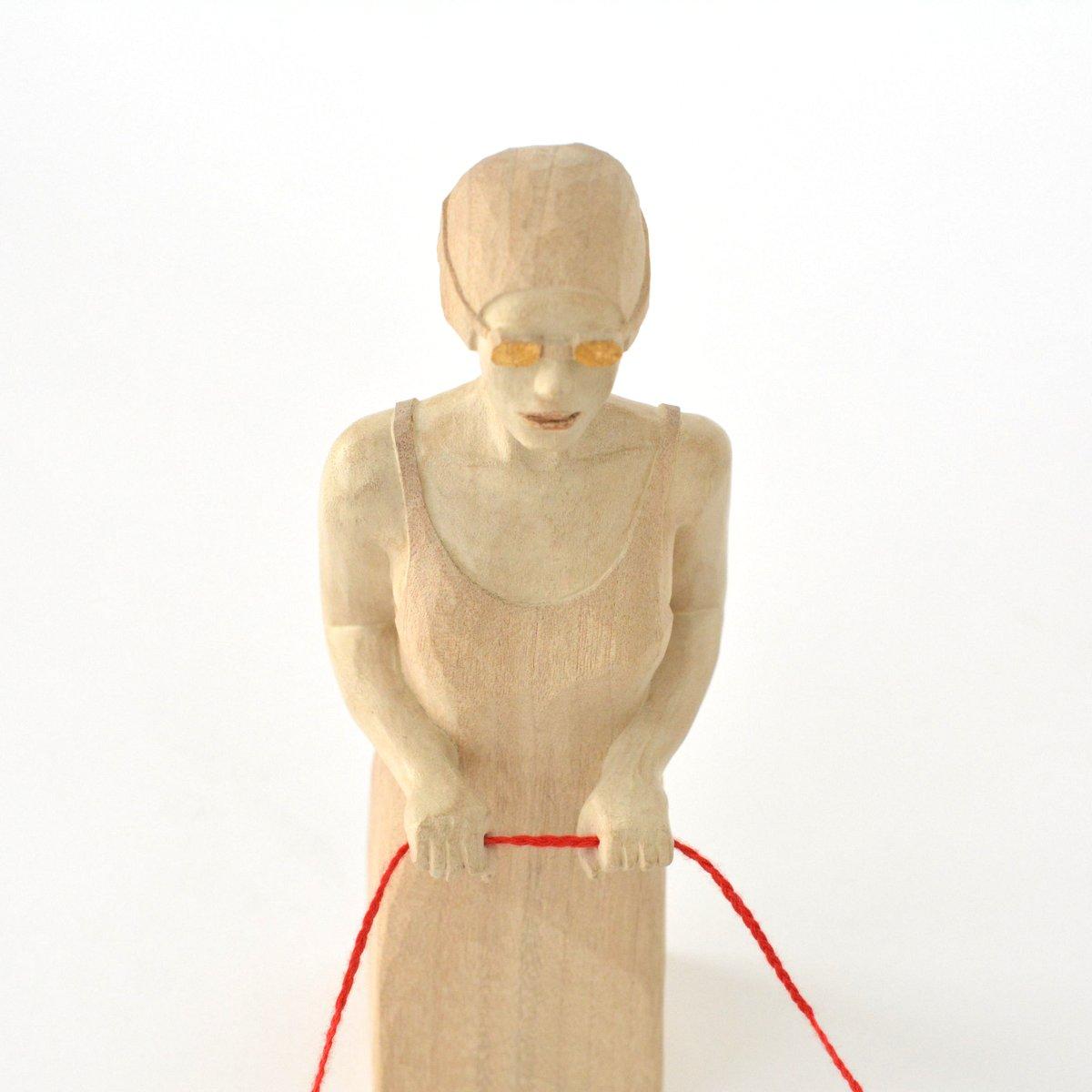 「 西浦裕太 木彫刻展 」 7日目-2_d0087761_1473951.jpg