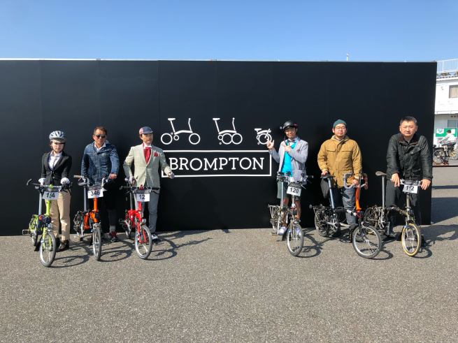 BROMPTON WORLD CHAMPIONSHIP JAPAN 2018_d0197762_06414436.jpg