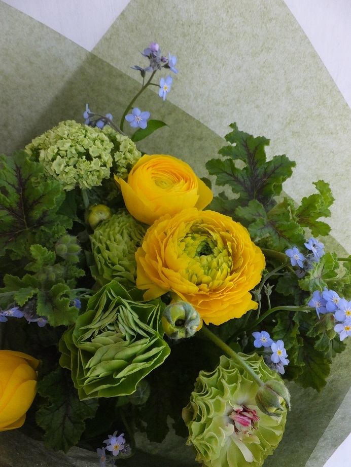 オークリーフ(春の花束コレクション)_f0049672_16005840.jpg