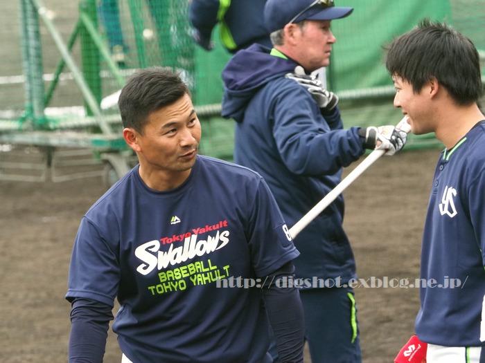 山田哲人選手、2018浦添キャンプその13_e0222575_2126559.jpg
