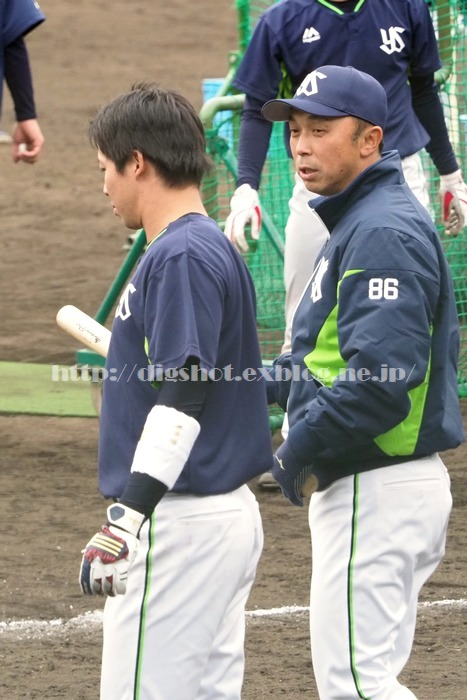 山田哲人選手、2018浦添キャンプその13_e0222575_21451528.jpg