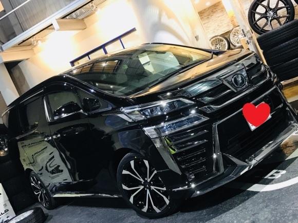3月30日(金)トミーベース カスタムブログ☆S社様、新車のヴェルファイア到着☆カマロカスタム中☆_b0127002_10564856.jpg