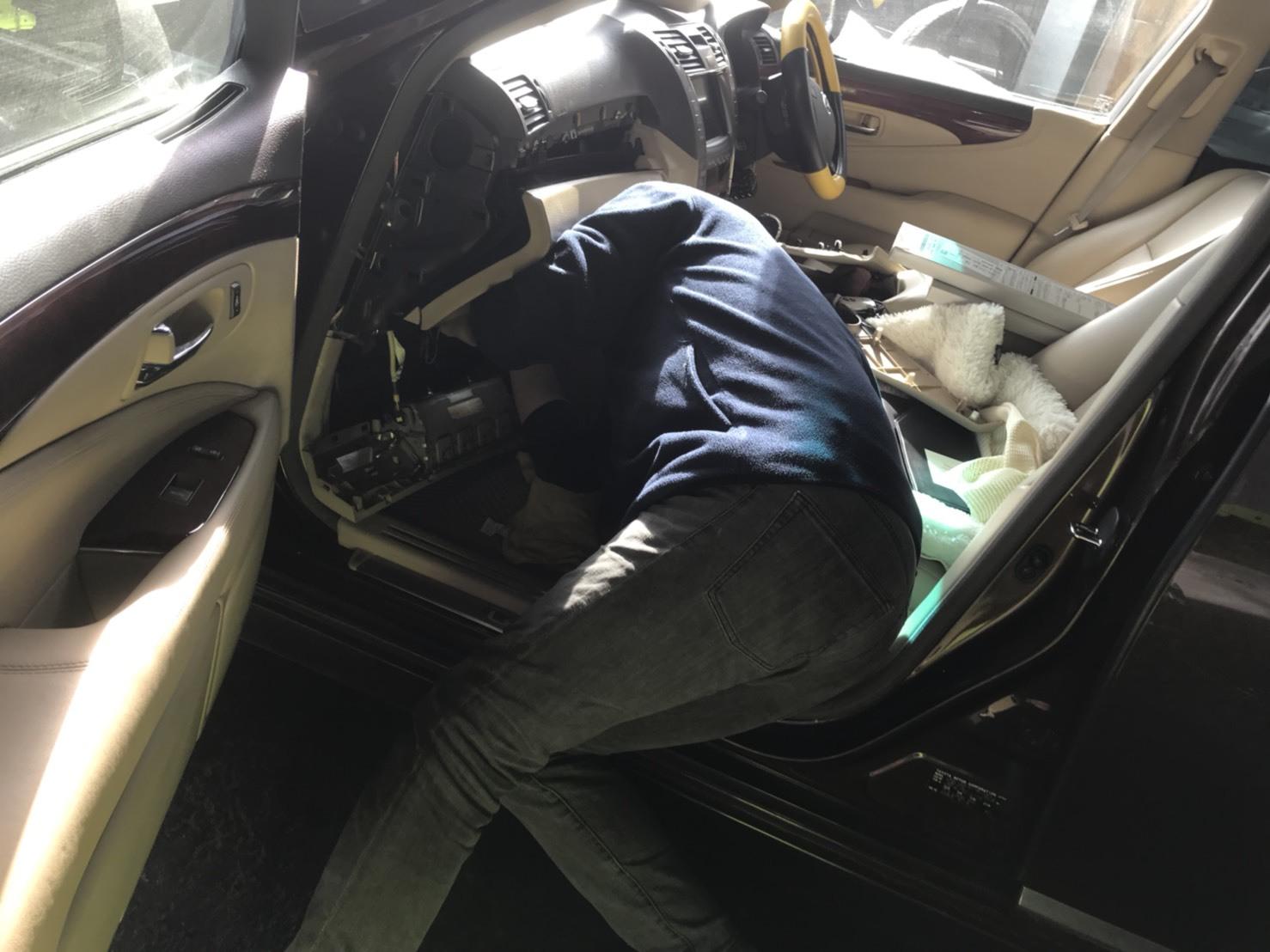 3月30日(金)トミーベース カスタムブログ☆S社様、新車のヴェルファイア到着☆カマロカスタム中☆_b0127002_11183611.jpg