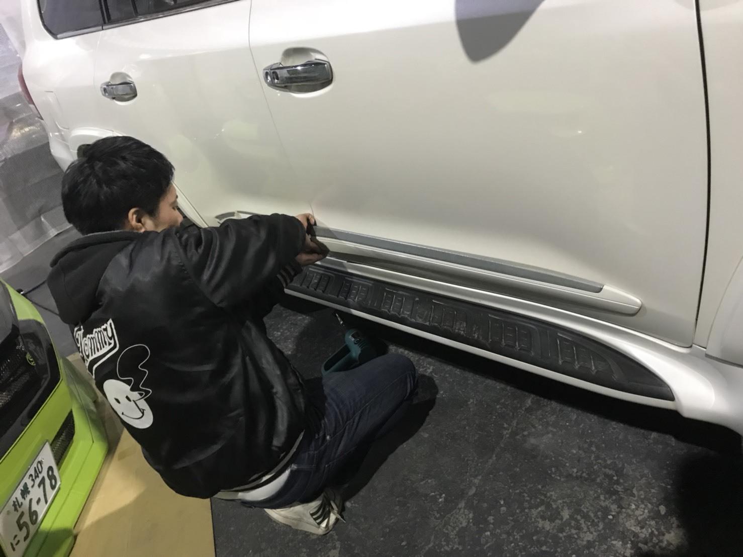 3月30日(金)トミーベース カスタムブログ☆S社様、新車のヴェルファイア到着☆カマロカスタム中☆_b0127002_12020516.jpg