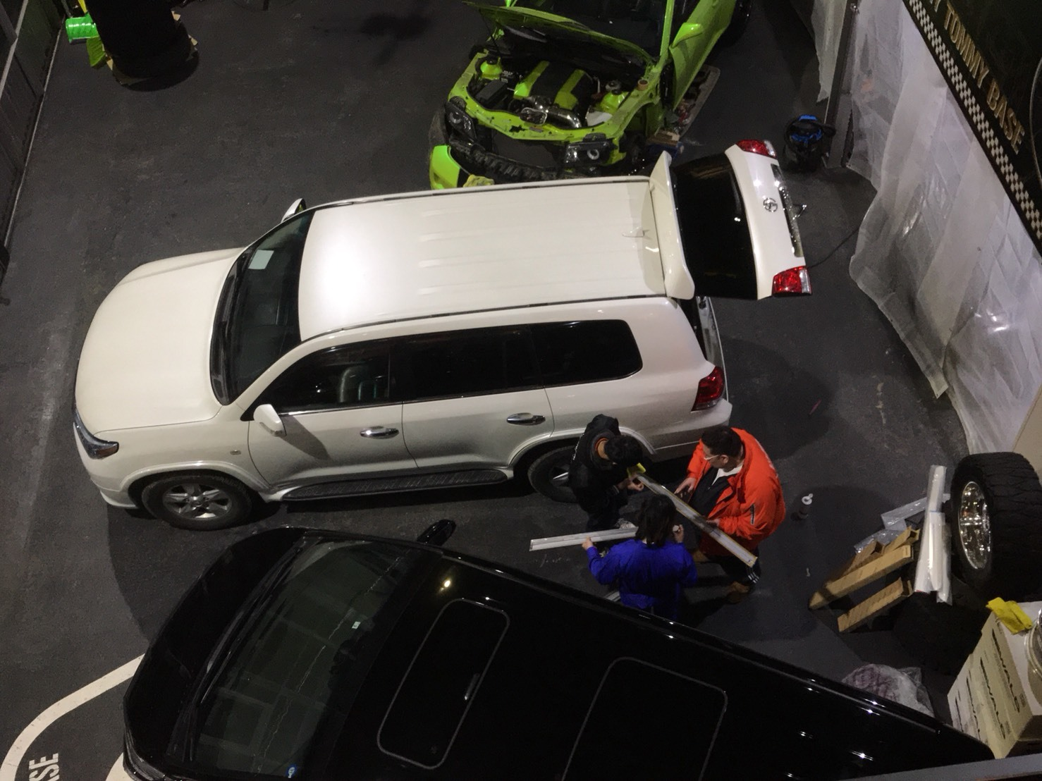 3月30日(金)トミーベース カスタムブログ☆S社様、新車のヴェルファイア到着☆カマロカスタム中☆_b0127002_12051737.jpg