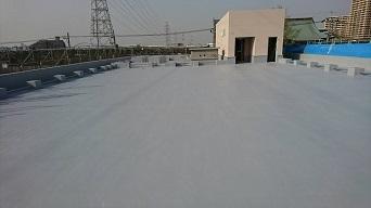 某保育園屋上防水工事(荒川区)_c0183605_17010717.jpg