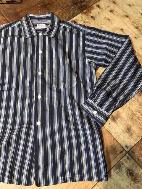 3月31日(土)入荷!60s all cotton stripe シャツ!_c0144020_13515813.jpg