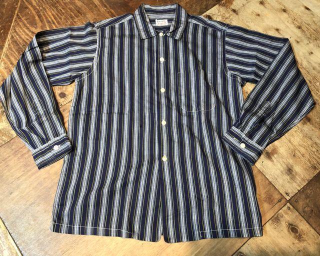 3月31日(土)入荷!60s all cotton stripe シャツ!_c0144020_13520029.jpg