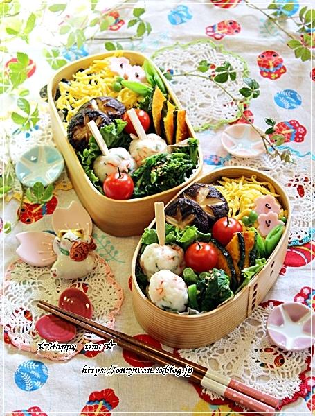 ちらし寿司弁当と地元の桜♪_f0348032_17371786.jpg