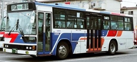 函館バス 三菱ふそうP-MP618K・P-MP618M +三菱_e0030537_00470718.jpg