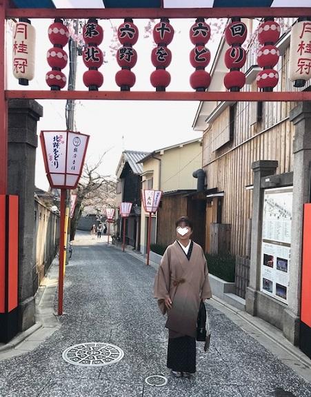 北野をどり・桜の下の着物姿・京都の桜も今週末が見頃_f0181251_1824485.jpg