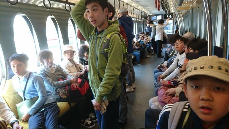 京阪電車に乗って比叡山へ行く・・・孫のスケジュールに同行_c0108460_21594253.jpg
