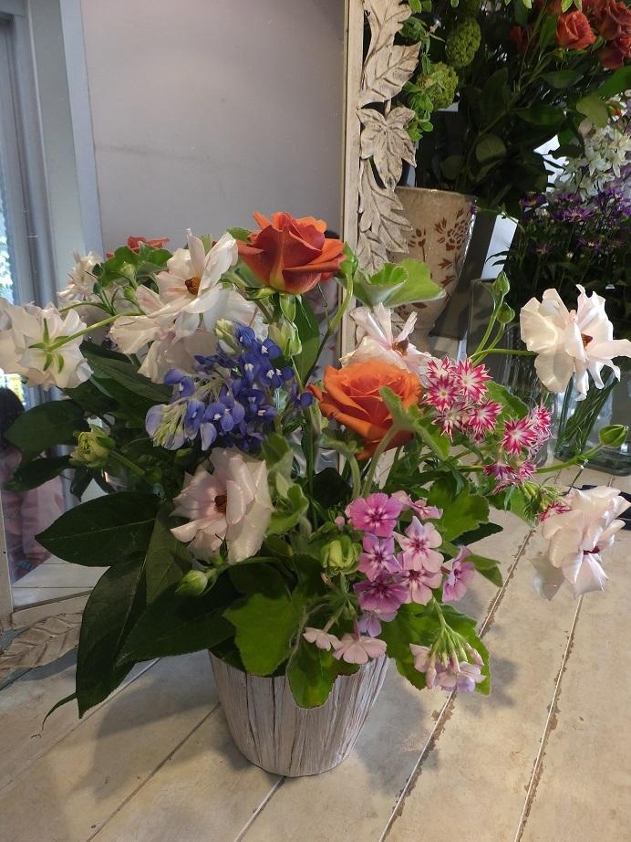 オークリーフ花の教室(さねゆきくんの作品)_f0049672_19444661.jpg