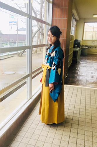 かわいい小学生袴姿のお客様_b0098077_17172566.jpg