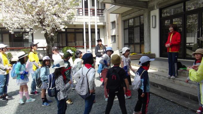 「はじめの一歩~春がきた!~」 はじまりました!!_b0239402_23244504.jpg