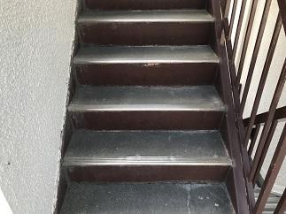 通路・階段防水工事(大田区)_c0183605_19133930.jpg