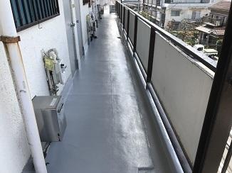 通路・階段防水工事(大田区)_c0183605_19162425.jpg