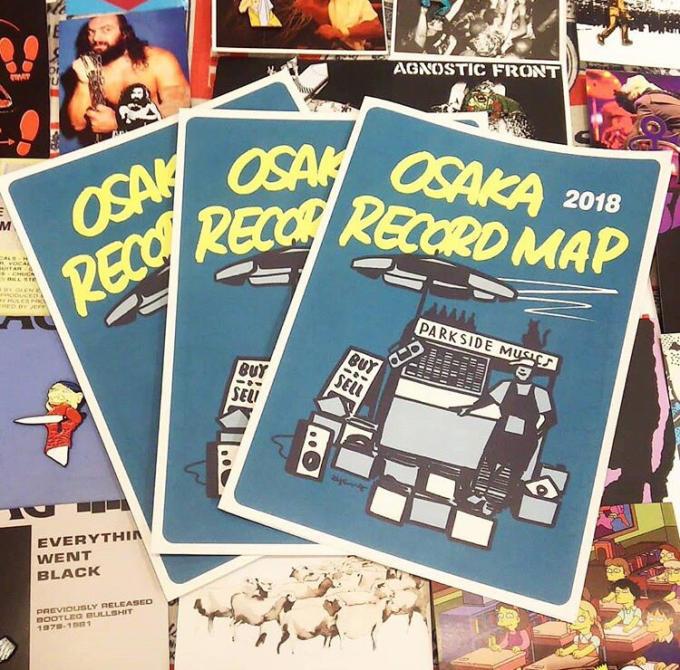 「 NEW ARRIVAL & OSAKA RECORD MAP 」_c0078333_10110274.jpg