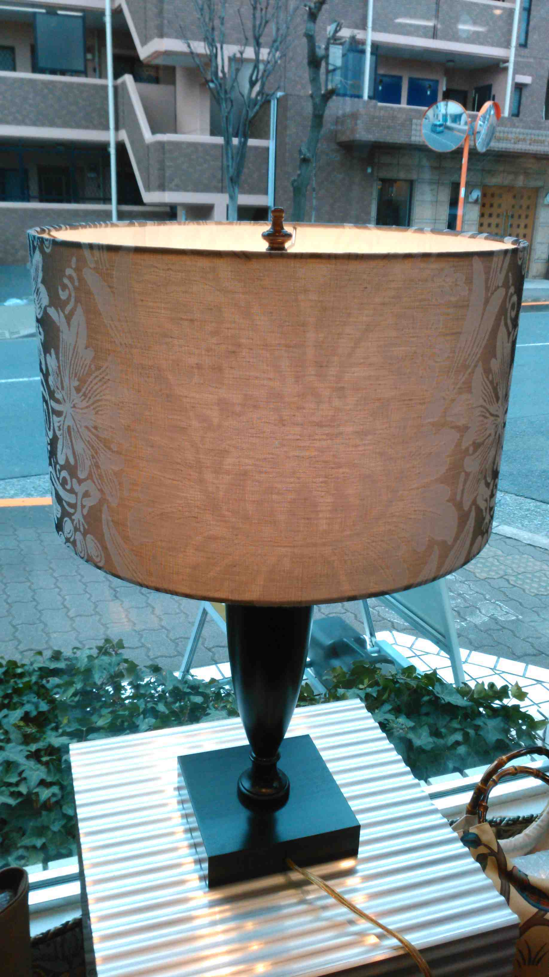 『ピュアモリス』でランプシェードの新規制作_c0157866_20084246.jpg