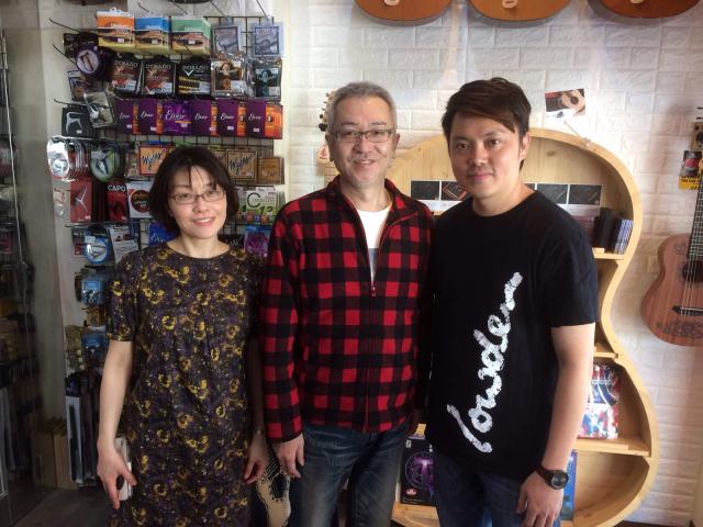高雄のギターショップ Guitar Kids 吉他寶貝樂器店で楽しい時間を過ごしました。_a0334793_14035603.jpg