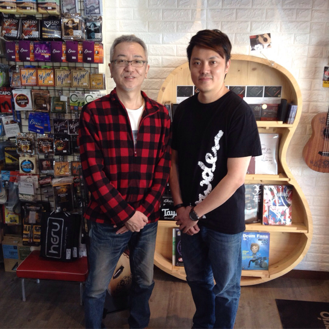 高雄のギターショップ Guitar Kids 吉他寶貝樂器店で楽しい時間を過ごしました。_a0334793_14295635.jpg