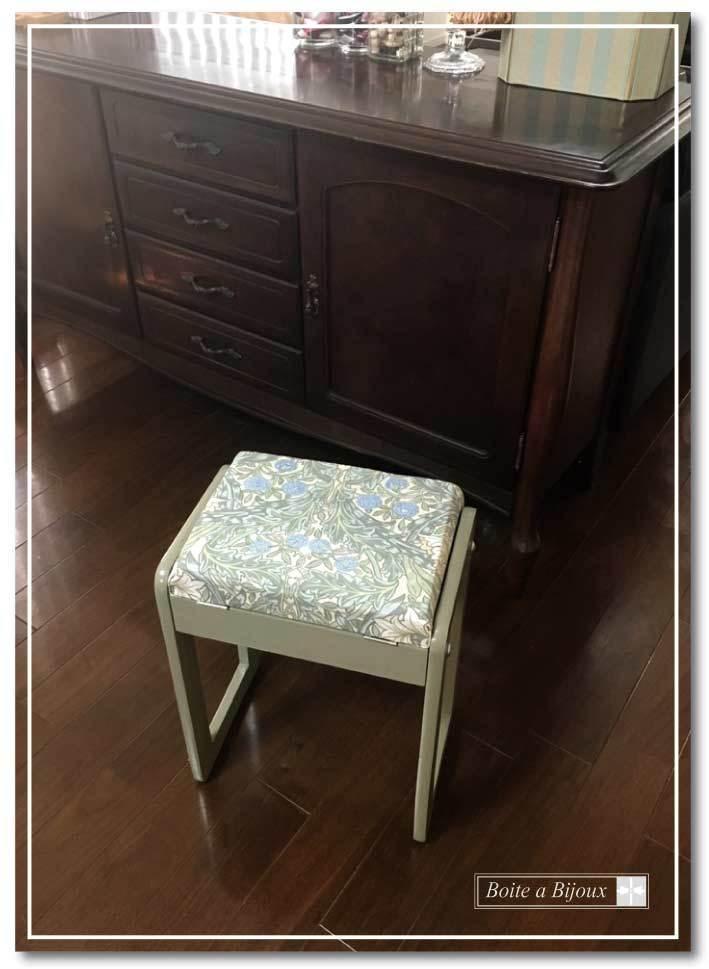 ミシンの椅子をリペア_d0286255_15245418.jpg