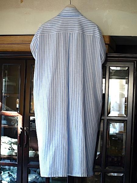 さりげなく上質で、シンプルですが、体型問わず、美しく着れて、使いやすい、TOMOUMI ONOの麻ワンピース_e0122680_17293240.jpg