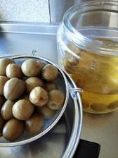 恒例の、大好きな梅酒の梅の甘露煮❤_b0213795_12080391.jpg