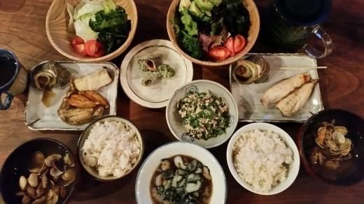ある日の夕食~幸せの根源_f0208315_11311494.jpg