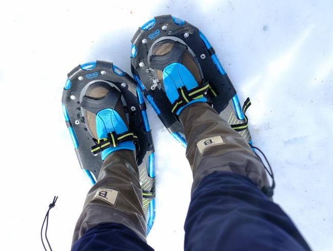 「雪の上を歩くって楽しい。美人林でスノーシュー!」_a0000029_22503236.jpg