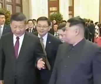 中国に訪問した「本物」の金正恩さん/ 画像・動画_b0003330_0501536.jpg