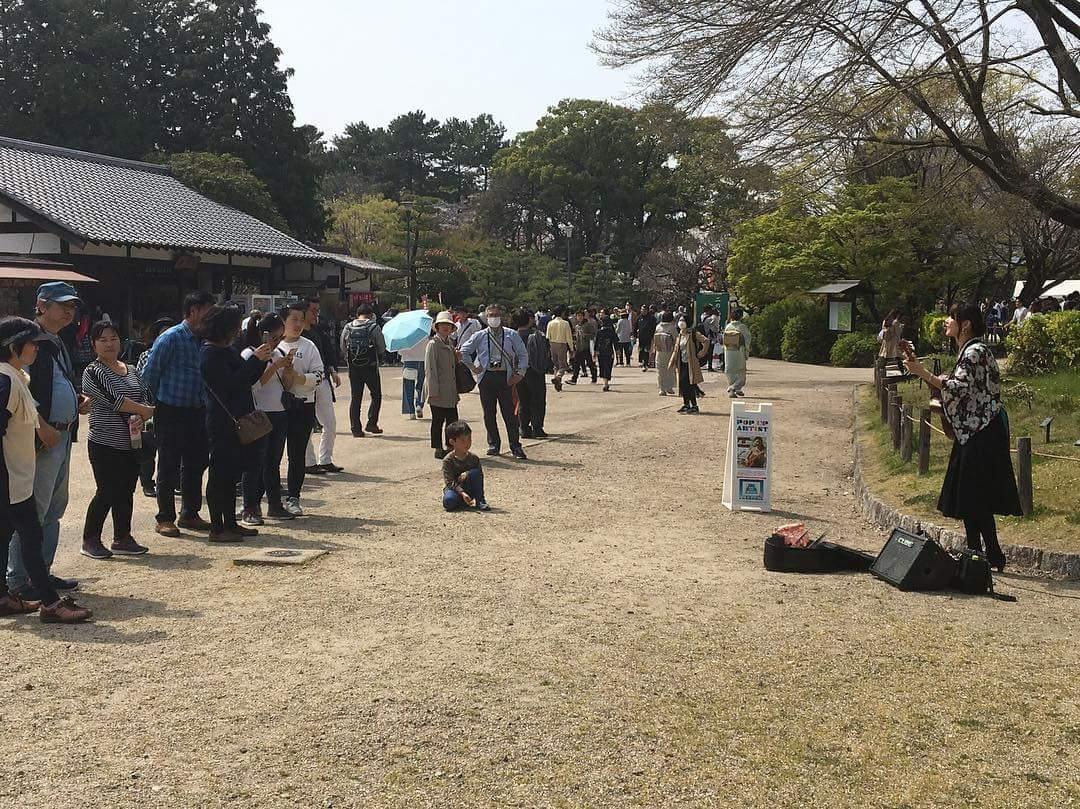 名古屋城での演奏、ありがとうございました!_f0373339_12595025.jpg