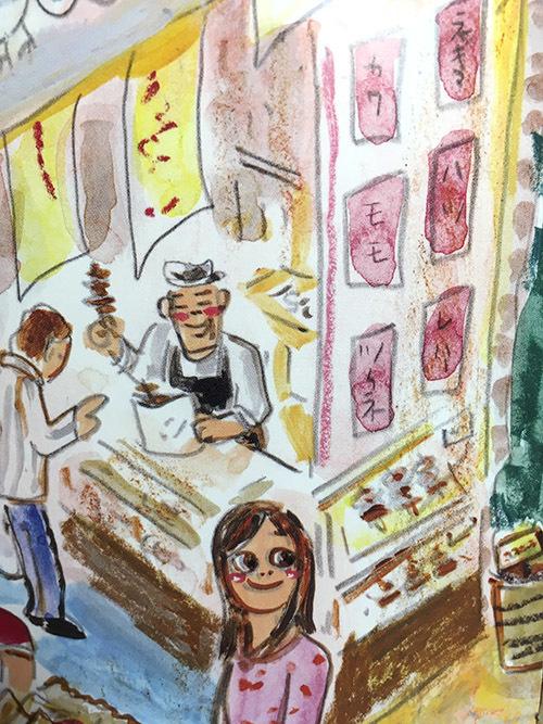 『でんしゃにのるよ ひとりでのるよ』3/27発売:その4・喫茶店!!_e0026053_17510573.jpg