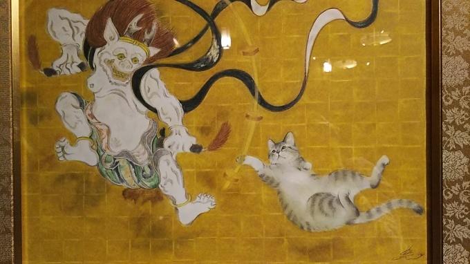 猫都(ニャンと)の国宝展見てきました♪_f0374160_21300604.jpg