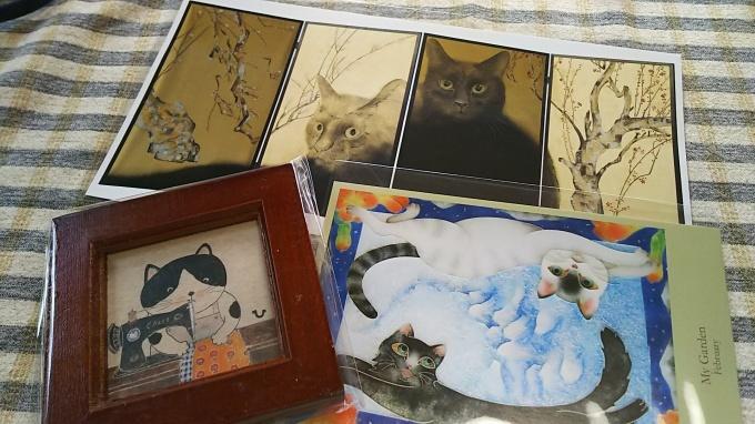 猫都(ニャンと)の国宝展見てきました♪_f0374160_21443974.jpg