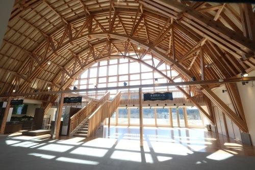 二ツ井道の駅:完成 室内_e0054299_11231143.jpg