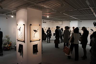墨絵展「EDWARD SUZUKI SUMIE」開催中です!_f0171840_17005513.jpg