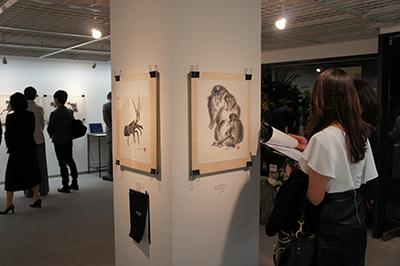 墨絵展「EDWARD SUZUKI SUMIE」開催中です!_f0171840_17204292.jpg