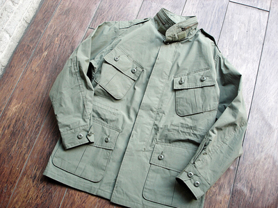 NEW : Nigel Cabourn [Fatigue Jacket - Vietnam Embroidery] &  [Jungle Fatigue Jacket - M65 Type] !!_a0132147_20252716.jpg