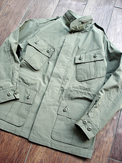 NEW : Nigel Cabourn [Fatigue Jacket - Vietnam Embroidery] &  [Jungle Fatigue Jacket - M65 Type] !!_a0132147_20254163.jpg