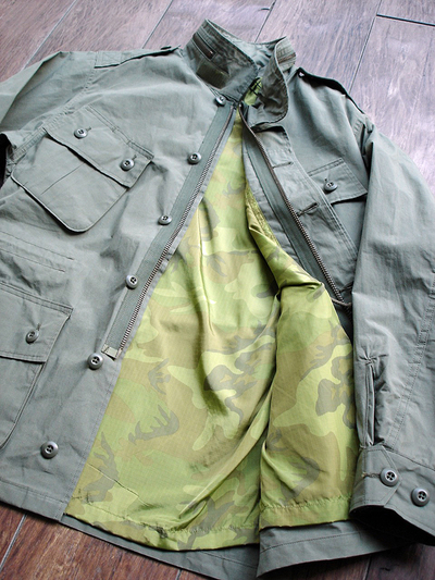 NEW : Nigel Cabourn [Fatigue Jacket - Vietnam Embroidery] &  [Jungle Fatigue Jacket - M65 Type] !!_a0132147_20264487.jpg