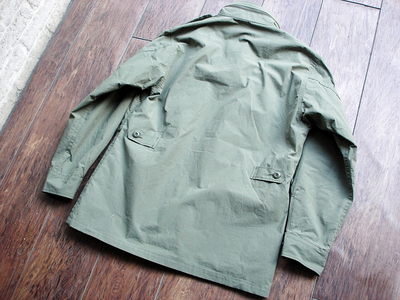 NEW : Nigel Cabourn [Fatigue Jacket - Vietnam Embroidery] &  [Jungle Fatigue Jacket - M65 Type] !!_a0132147_2027866.jpg