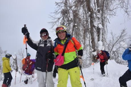 2018年3月3日3月3日 昼から[湯内山」を登って深雪を楽しむ_c0242406_17030888.jpg