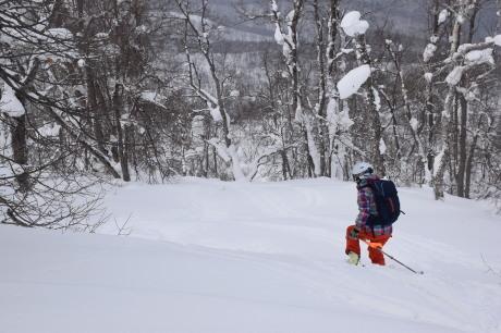 2018年3月3日3月3日 昼から[湯内山」を登って深雪を楽しむ_c0242406_17043466.jpg