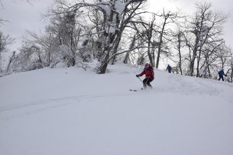 2018年3月3日3月3日 昼から[湯内山」を登って深雪を楽しむ_c0242406_17045695.jpg