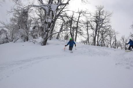 2018年3月3日3月3日 昼から[湯内山」を登って深雪を楽しむ_c0242406_17054432.jpg