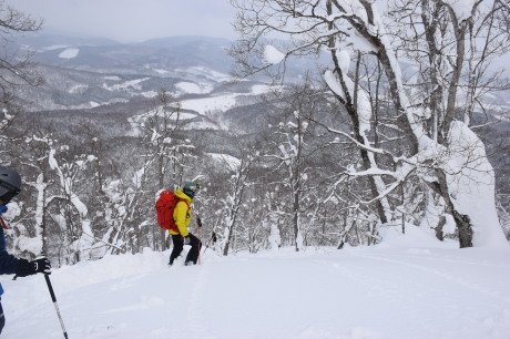 2018年3月3日3月3日 昼から[湯内山」を登って深雪を楽しむ_c0242406_17060564.jpg