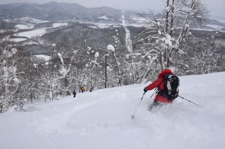 2018年3月3日3月3日 昼から[湯内山」を登って深雪を楽しむ_c0242406_17092171.jpg