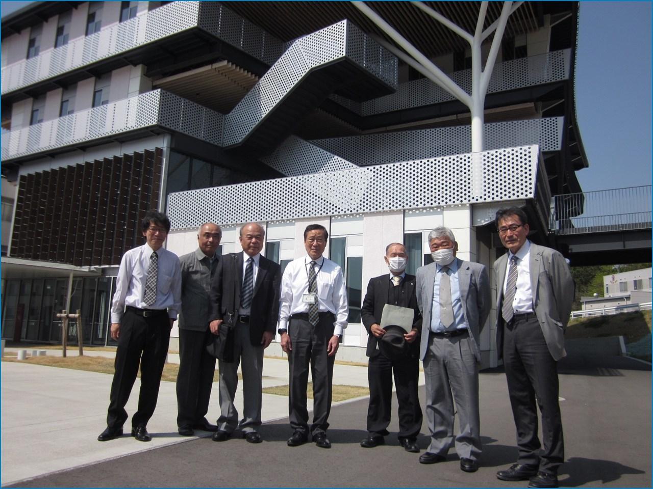 静岡理工科大学 理工学部 建築学科棟の見学 1_c0376508_15415340.jpg